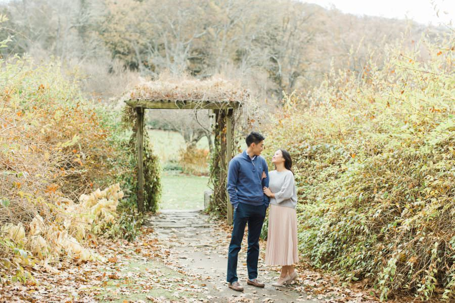 FALL ENGAGEMENT SESSION AT SKYLANDS MANOR, NJ